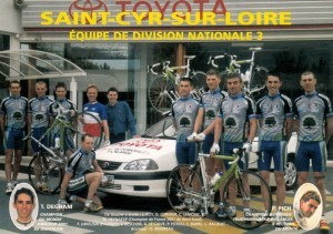 750 - Equipe cycliste nationale.