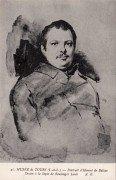 Musée de Tours - Portrait d'Honoré de Balzac - Dessin de Louis Boulanger.