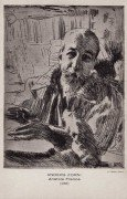Anatole France, par Anders Zorn.