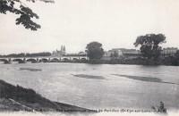 Saint Cyr sur Loire - Vue panoramique prise de Portillon.