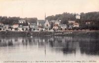Saint Cyr sur Loire - Rive droite de la Loire, l'église, le bourg.