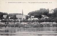 Saint Cyr sur Loire - Vue générale et la Loire.