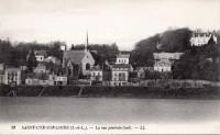 Saint Cyr sur Loire - La vue générale.