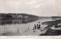 Saint Cyr sur Loire - La Loire, entre Tours et Saint-Cyr.