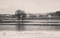 Saint Cyr sur Loire - Bords de Loire. Quai Saint-Cyr.
