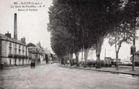 Saint Cyr sur Loire - La gare de Portillon.