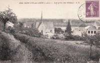 Saint Cyr sur Loire - Vue prise des coteaux.