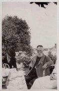 Saint Cyr sur Loire - La Béchellerie - Anatole France - Photographie originale prise par Jacques Lion le 29 juin 1923.