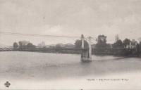 Saint Cyr sur Loire - Pont suspendu St-Cyr.