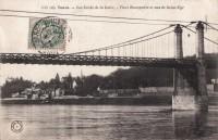Saint-Cyr-sur-Loire - Les bords de la Loire - Pont Bonaparte et vue de Saint-Cyr.