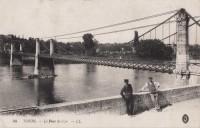 Saint Cyr sur Loire - Le pont Saint-Cyr.