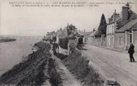 Saint Cyr sur Loire - Les Maisons Blanches - Route nationale d'Angers à Briare, chemin de halage.