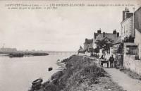 Saint Cyr sur Loire - Les Maisons Blanches, chemin de halage.