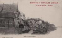 Saint Cyr sur Loire - Chemin de halage - Demandez le Chocolat Lorrain, G.BOUVIER, Nancy.