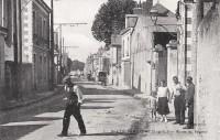 Saint Cyr sur Loire - Route de Saumur.