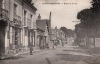 Saint Cyr sur Loire - Route de Tours.