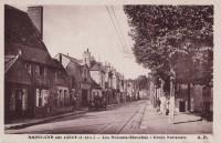 Saint Cyr sur Loire - Les Maisons Blanches - Route Nationale.