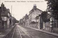 Saint Cyr sur Loire - Route Nationale - Les Maisons Blanches.