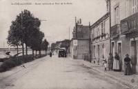 Saint Cyr sur Loire - Route nationale et Pont de la Motte.