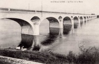 Saint Cyr sur Loire - Le Pont de la Motte.