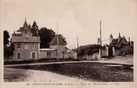 Saint Cyr sur Loire - Place de l'Homme Noir.