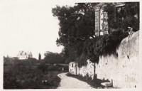 Saint Cyr sur Loire - Le vieux chemin de l'église.