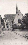 Saint Cyr sur Loire - L'église.