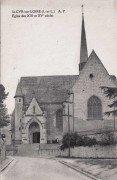 Saint Cyr sur Loire - Eglise des XIIIe et XVe siècles.
