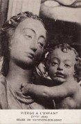 Saint Cyr sur Loire - Eglise - Vierge à l'enfant.