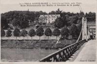 Saint Cyr sur Loire - La Villa Sainte-Marie, Ecole Professionnelle des Mutilés et Invalides de la guerre.