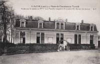 Saint Cyr sur Loire - Maison de convalescence Tonnellé - Bâtiment des hommes.