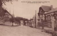 Saint Cyr sur Loire - L'allée des Fontaines à Cottage-Parc.