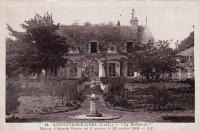Saint Cyr sur Loire - La Béchellerie - Maison d'Anatole France où il mourut le 12 octobre 1924.