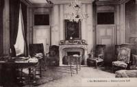 Saint Cyr sur Loire - La Béchellerie - Habitation d'Anatole France - Album Souvenir - 7 - Salon Louis XIV.