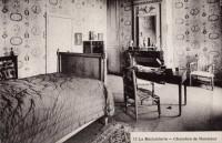 Saint Cyr sur Loire - La Béchellerie - Habitation d'Anatole France - Album Souvenir - 13 - Chambre de Monsieur.