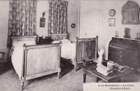Saint Cyr sur Loire - La Béchellerie - Habitation d'Anatole France - Album Souvenir - 16 - Le chais, chambre d'amis.