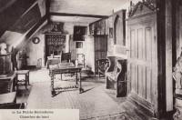 Saint Cyr sur Loire - La Béchellerie - Habitation d'Anatole France - Album Souvenir - 20 - La Petite Béchellerie, chambre du haut.