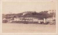 Saint Cyr sur Loire - Bords de Loire - Photographie ancienne (10,5 x 6,5 cm) - Datée 16 mai 1872.