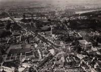 Saint Cyr sur Loire - Vue aérienne - Photographie ancienne - 12.6.1928 - 16 x 22 cm.