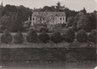 Saint Cyr sur Loire - La Villa Sainte-Marie - Photographie ancienne (17,5 x 12,5 cm).