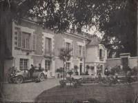 Saint Cyr sur Loire - La Boissière - Photographie ancienne (23,5 x 18 cm).