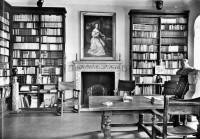 Saint Cyr sur Loire - La Béchellerie - Maison d'Anatole France - La bibliothèque.