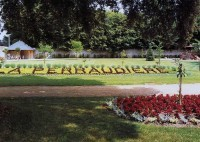 Saint Cyr sur Loire - La Perraudière, le parc.