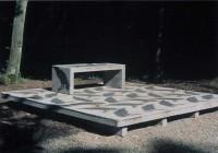 Saint Cyr sur Loire - Les collections du parc de la Perraudière - Marie-Josèphe Pétropaulousky - Sans titre, 1998.