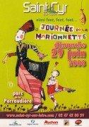 Saint Cyr sur Loire - Journée de la marionnette 2008.