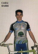 Saint Cyr sur Loire - Equipe cycliste nationale - Cédric BARRE.