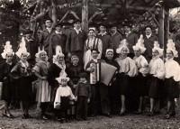 Saint Cyr sur Loire - BIA QU'T'AIE - Groupe Folklorique des Vendéens en Touraine 1957.