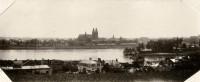 Saint-Cyr-sur-Loire - TOURS depuis la rive droite,de la Loire - Photographie ancienne.