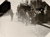 Saint Cyr sur Loire - Une rue de Saint-Cyr - Juillet 1902 - Photographie ancienne.