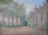 Saint Cyr sur Loire - La Mignonerie - Par R. L. DAMON. Propriété appartenant alors à la famille Joubert.